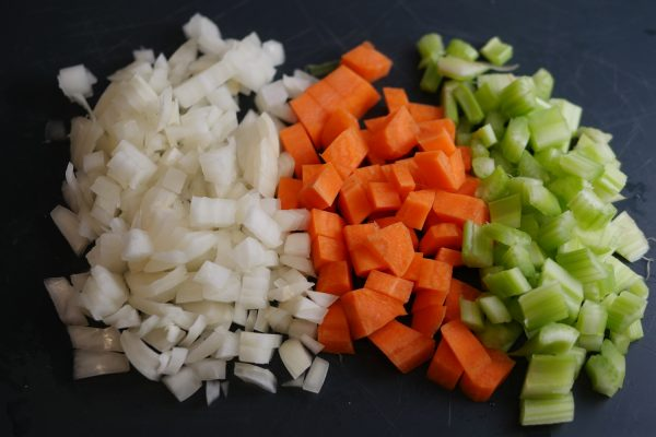 mirepoix mix for shepherds pie