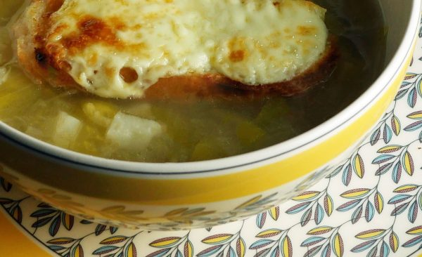 Easy Leek Potato Soup