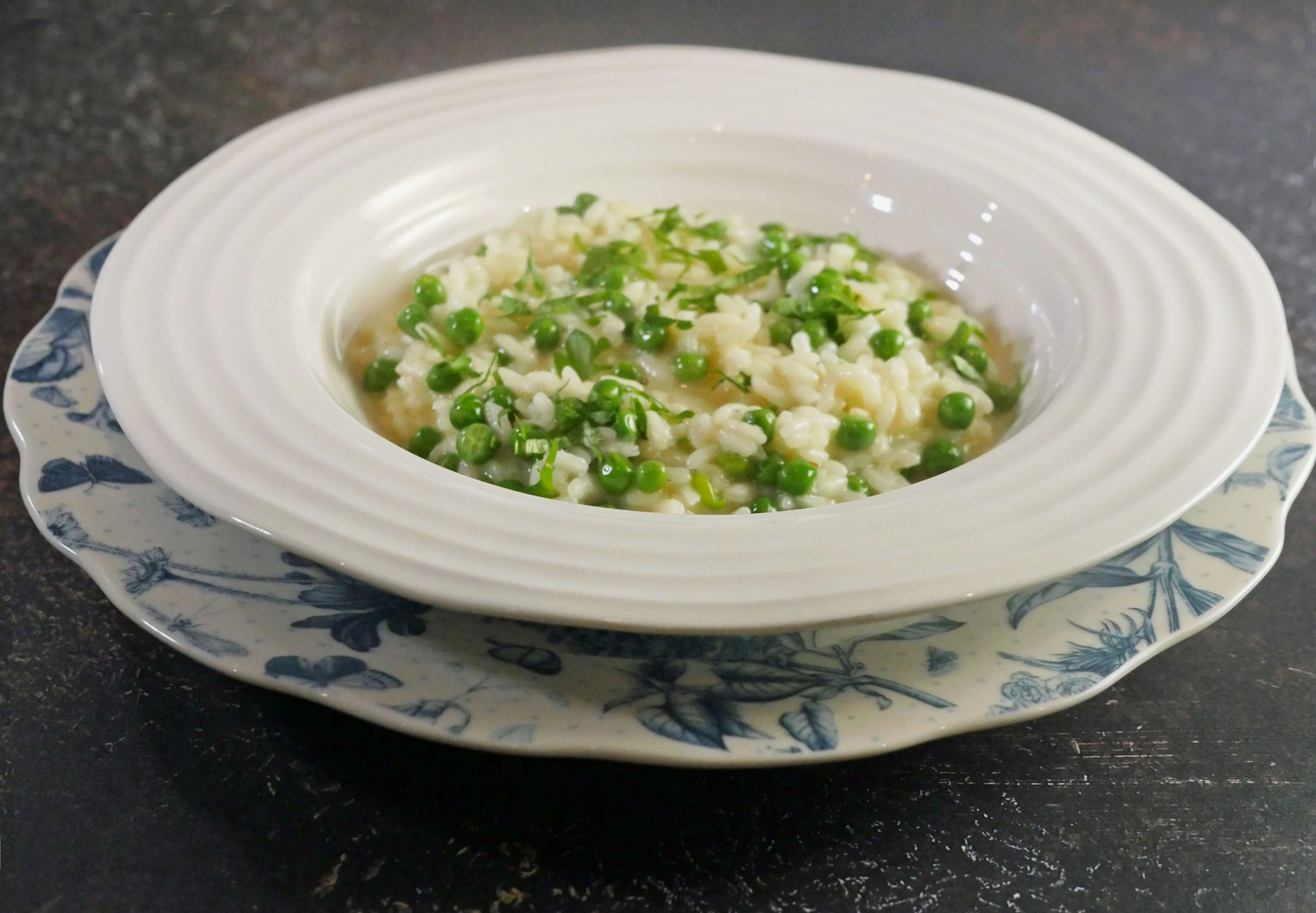Pea and Parmesan Risotto