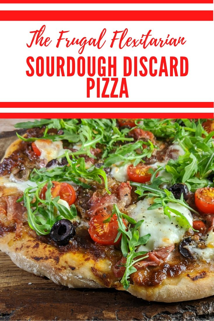 Sourdough Discard Pizza