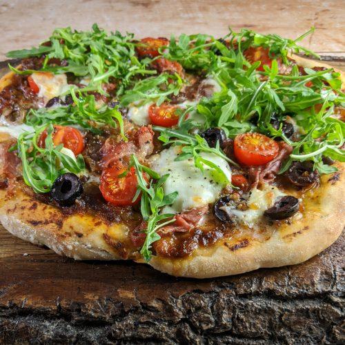 Sourdough Pizza with Rocket