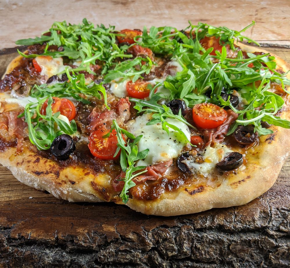 Sourdough Pizza with Rocket