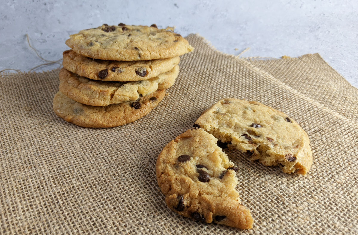 Ginger Chocolate Chip Cookies Cooked