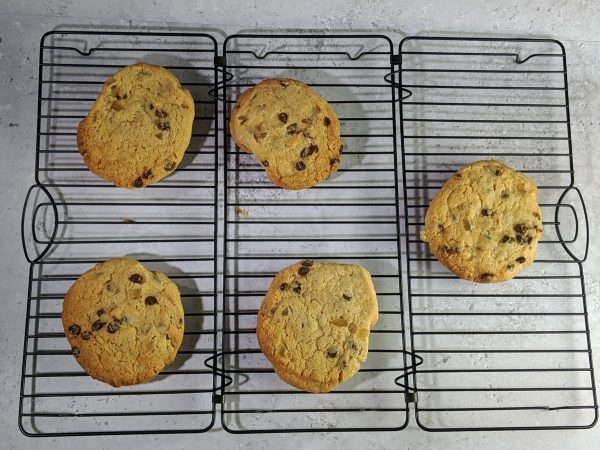 Ginger and Chocolate Chip Cookies