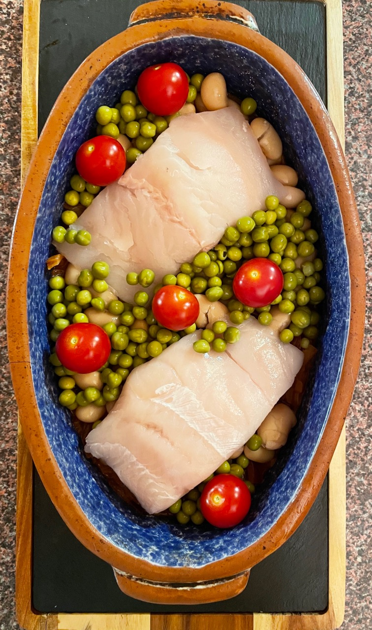 fish-peas-tomato-butter-beans