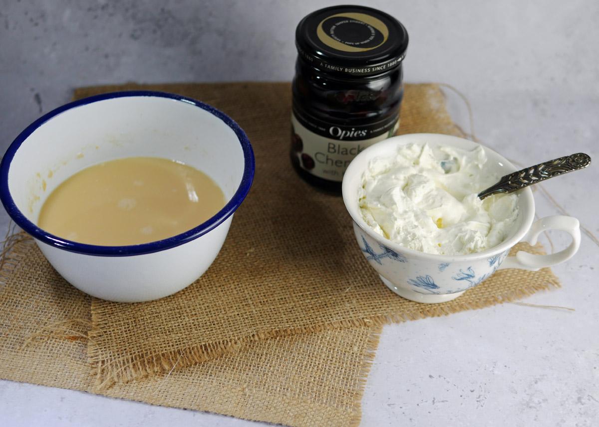 How to make English Pancakes - ingredients for English Cherry Pancakes