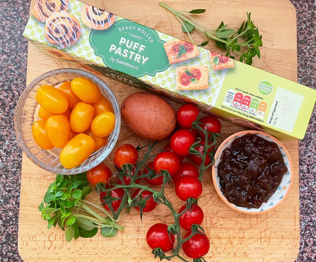 tomato-tart-ingredients