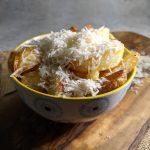 Homemade Oven Chips Truffled Parmesan