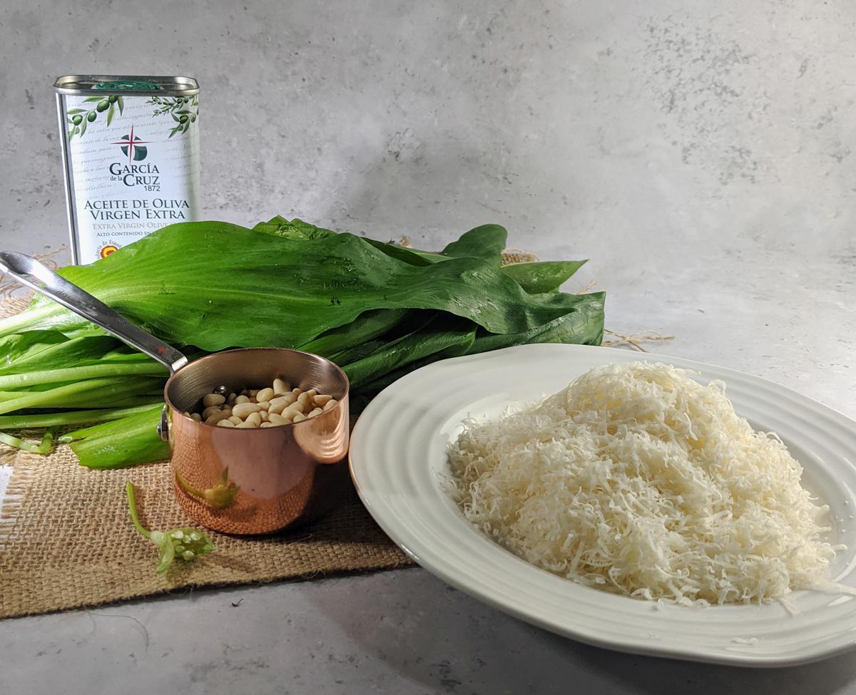 Ingredients Wild Garlic Pesto