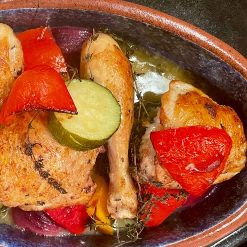 Chicken Bake with Roasted Vegetables