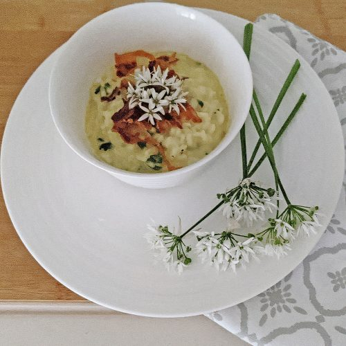 Wild Garlic Risotto Recipe